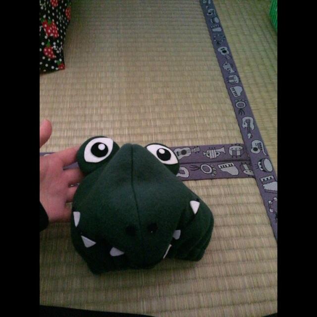 【アプリ投稿】衣装『ワニの帽子』