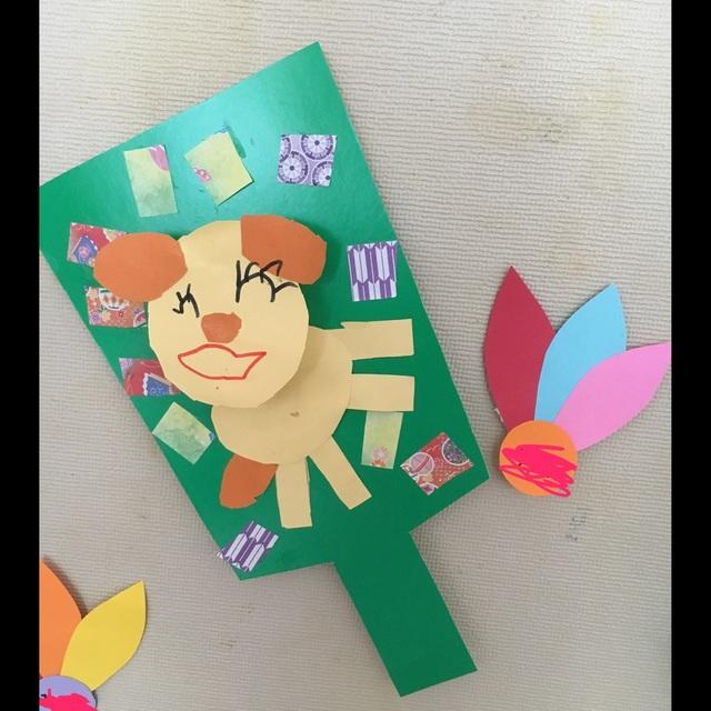 【アプリ投稿】年明け壁面  4歳児