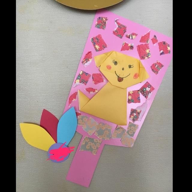【アプリ投稿】年明け壁面  5歳児