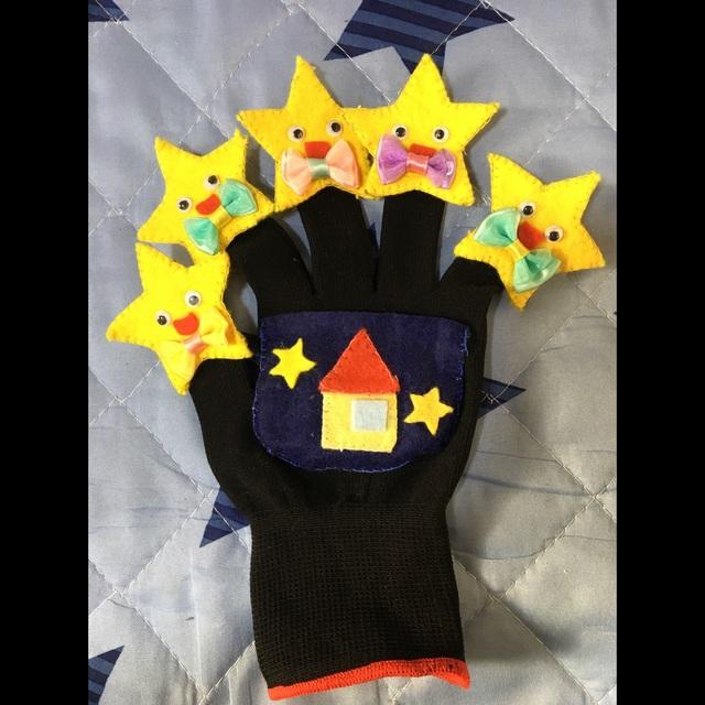 【アプリ投稿】キラキラ星手袋シアター