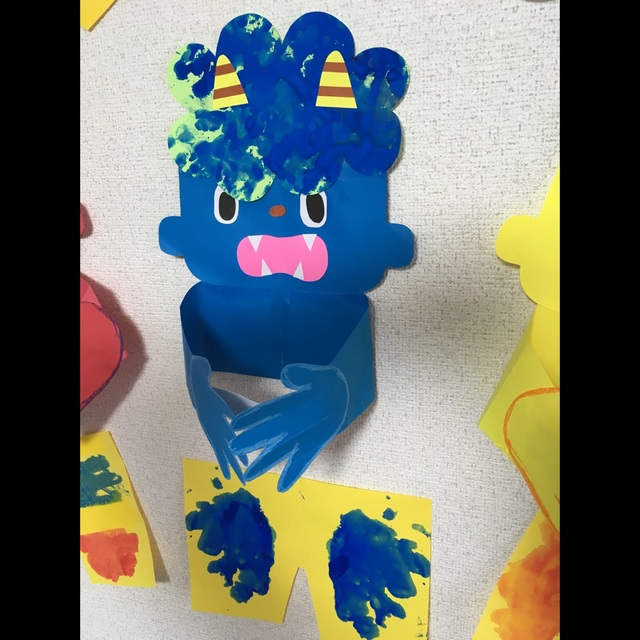 【アプリ投稿】☆2歳児 鬼の面