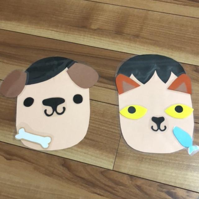 【アプリ投稿】福笑い【犬 猫】