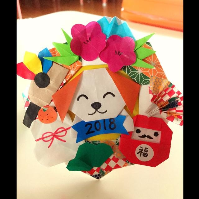 【アプリ投稿】1月の誕生会の冠のパーツを折り紙で作りました*ˊᵕˋ*