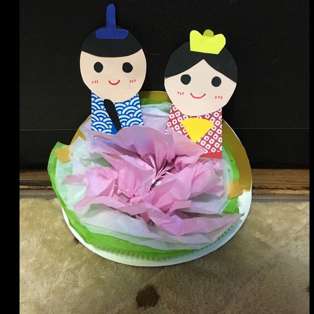 【アプリ投稿】紙皿のおひなさま