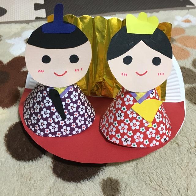 【アプリ投稿】紙皿のおひなさまパート2