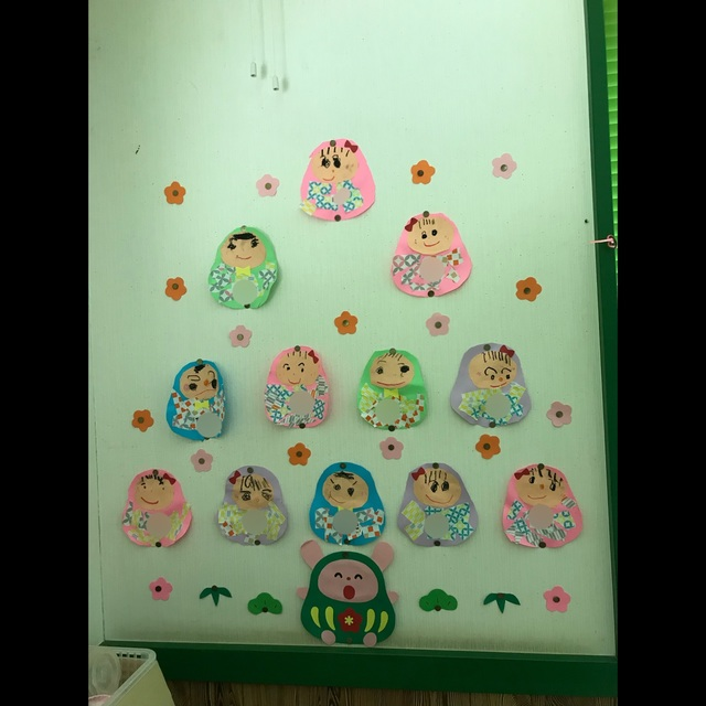 【アプリ投稿】3歳児3学期 壁面