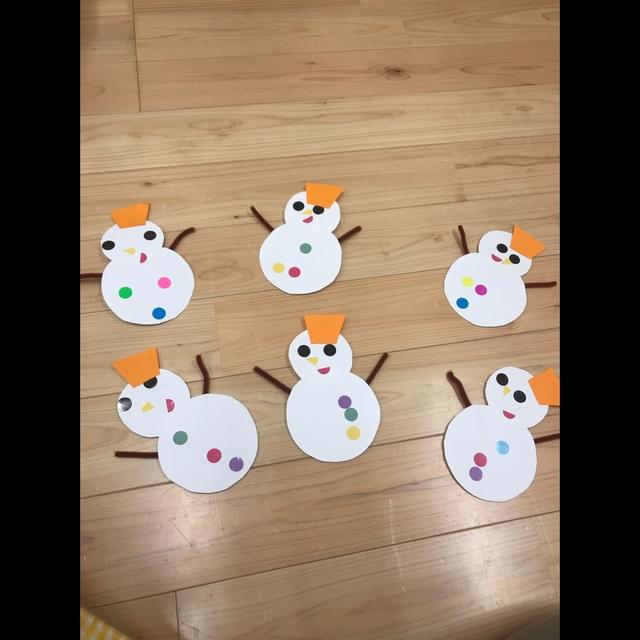 【アプリ投稿】雪だるま0歳児