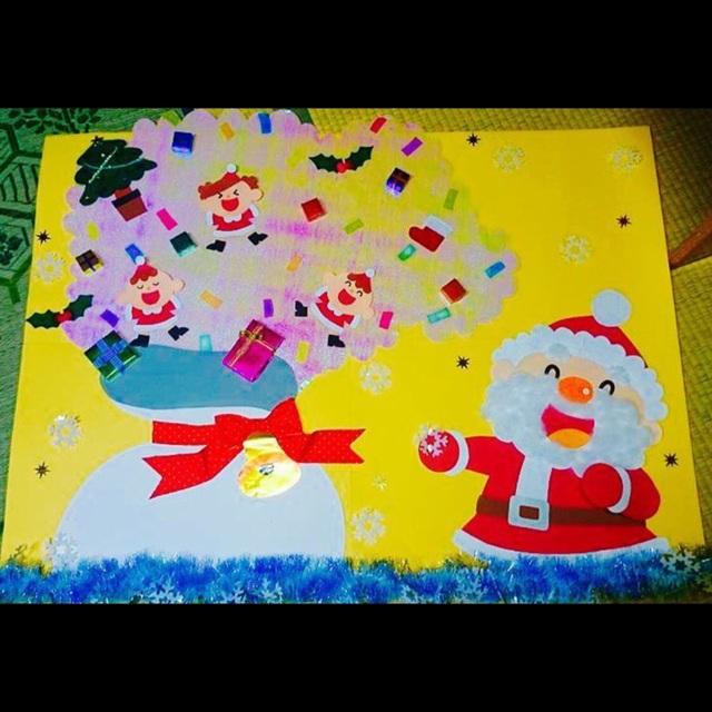 【アプリ投稿】【クリスマス壁面】
