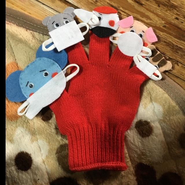 【アプリ投稿】コンコンくしゃん手袋シアター