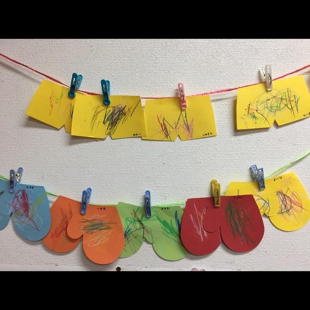 【アプリ投稿】1歳児 なぐり書き おにのパンツ
