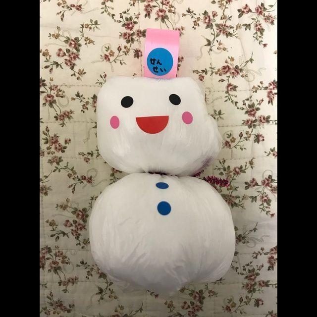 【アプリ投稿】【雪だるま】
