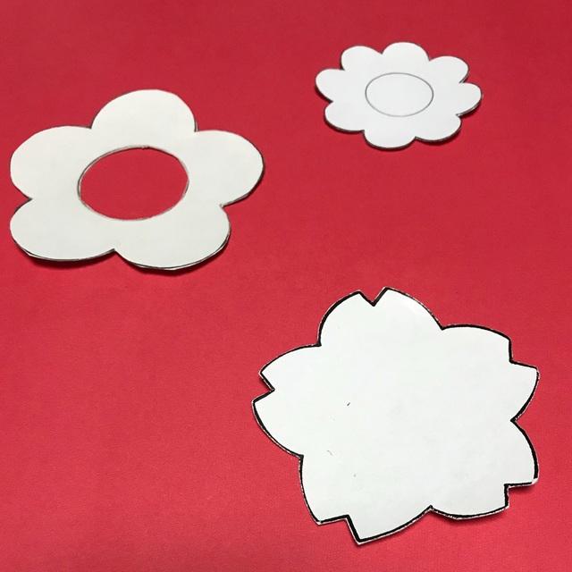 【アプリ投稿】花の型紙