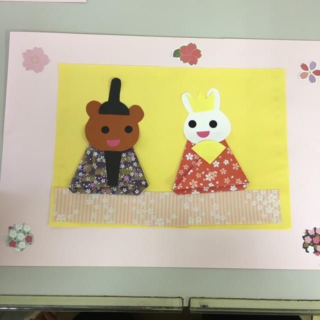【アプリ投稿】3月制作 おひなさま