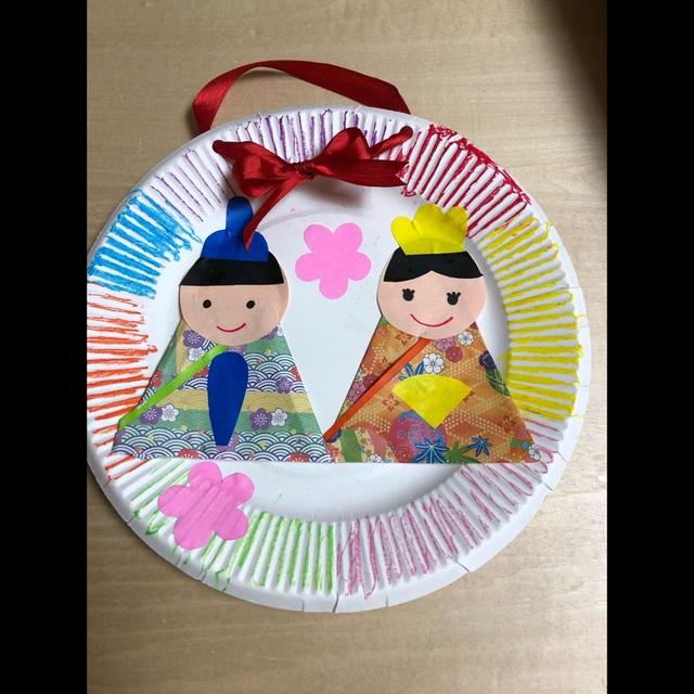 【アプリ投稿】紙皿おひなさま☆