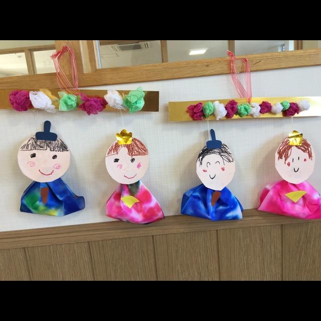 【アプリ投稿】おひなさま製作(4歳児)