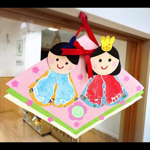 【アプリ投稿】《ひな祭り製作》0歳児クラス