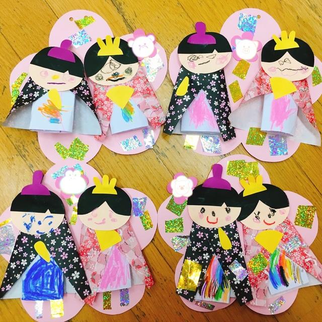 【アプリ投稿】ひな祭り3歳児クラス
