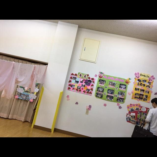 【アプリ投稿】保育参観時のクラス壁面