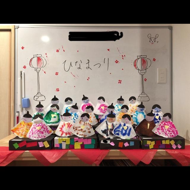【アプリ投稿】【ひな祭り】2歳児クラス