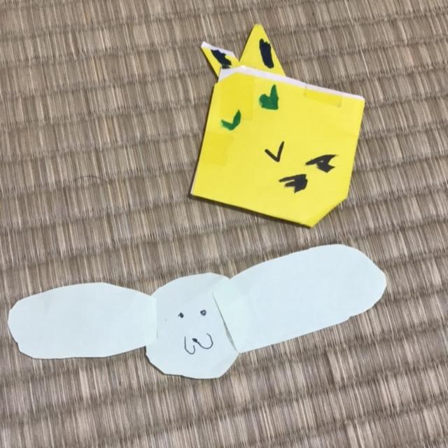 【アプリ投稿】ピカチュウと犬 5歳