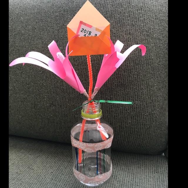 【アプリ投稿】手形で作る花束