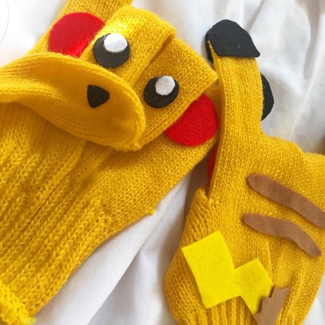 【アプリ投稿】【手袋シアター ピカチュウ】