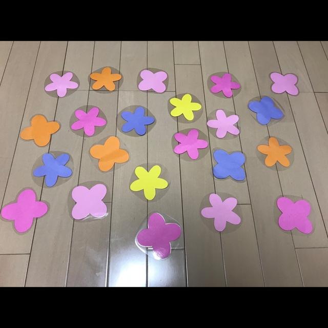 【アプリ投稿】4月壁面  お花