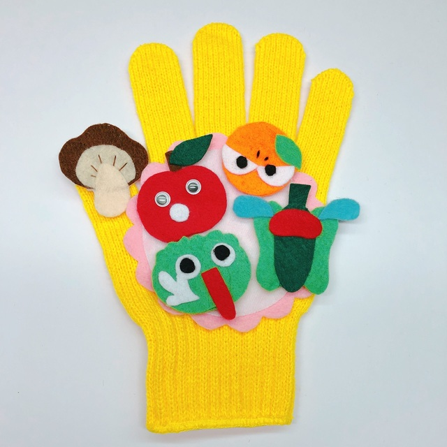 【アプリ投稿】【手袋シアター】リンゴがコロコロ