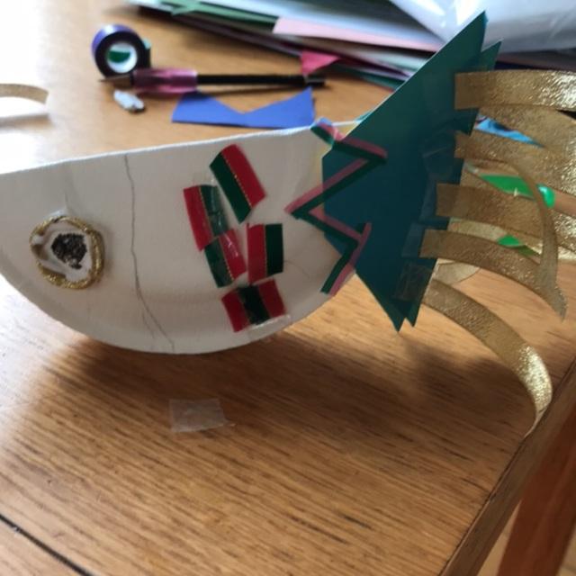【アプリ投稿】こいのぼり製作☆紙皿