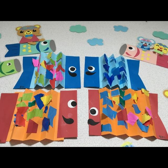 【アプリ投稿】3歳児☆こいのぼりの作り方