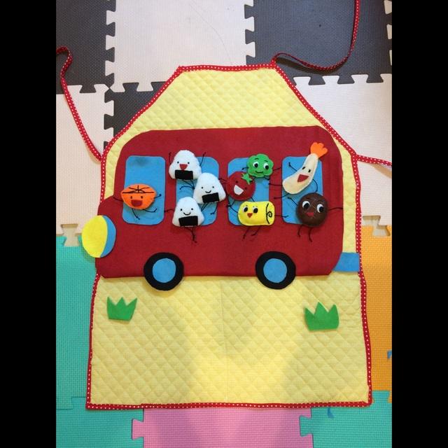 【アプリ投稿】○おべんとうバス1歳児