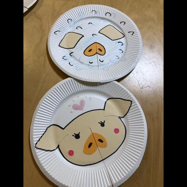 【アプリ投稿】紙皿シアター③2歳児
