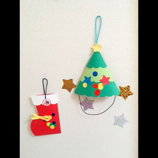 【アプリ投稿】クリスマスツリーの帽子赤い靴のかばん