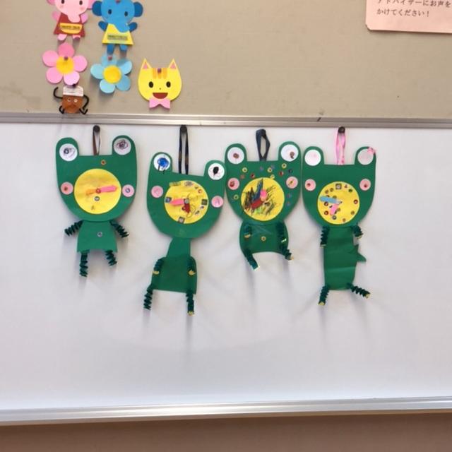【アプリ投稿】カエルの時計