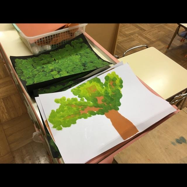 【アプリ投稿】木 スタンプ