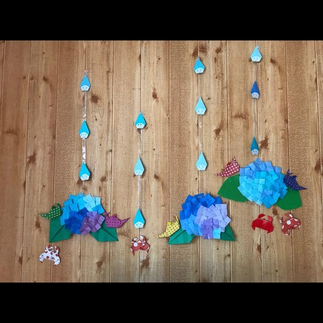 【アプリ投稿】6月の壁面飾り