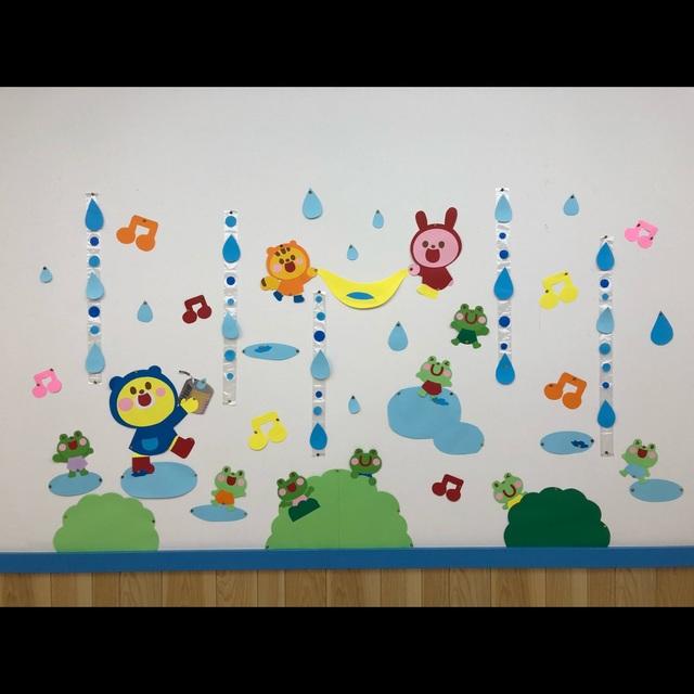 【アプリ投稿】梅雨壁面