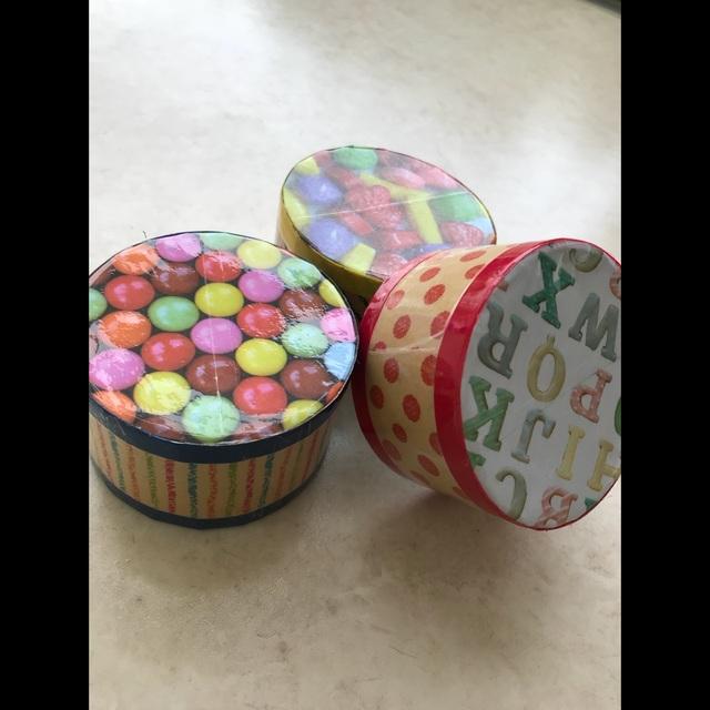 【アプリ投稿】ガムテープの芯のおもちゃ