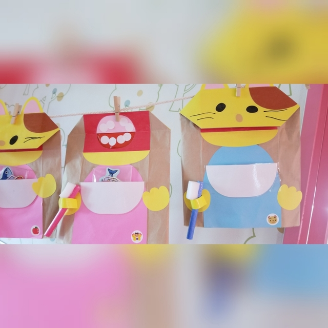 【アプリ投稿】虫歯予防デー1歳児製作