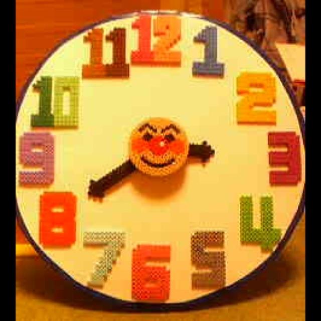 【アプリ投稿】【アンパンマンの時計】