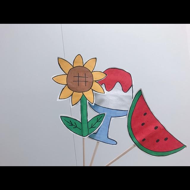 【アプリ投稿】ペープサート 夏