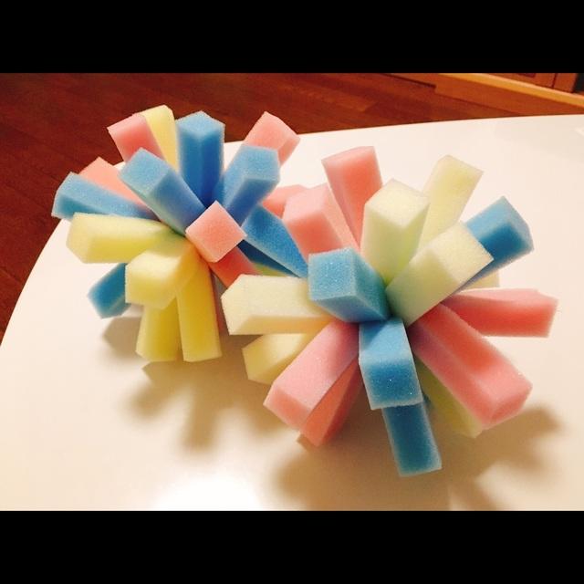 【アプリ投稿】水遊び用おもちゃ【カラフルスポンジボール】