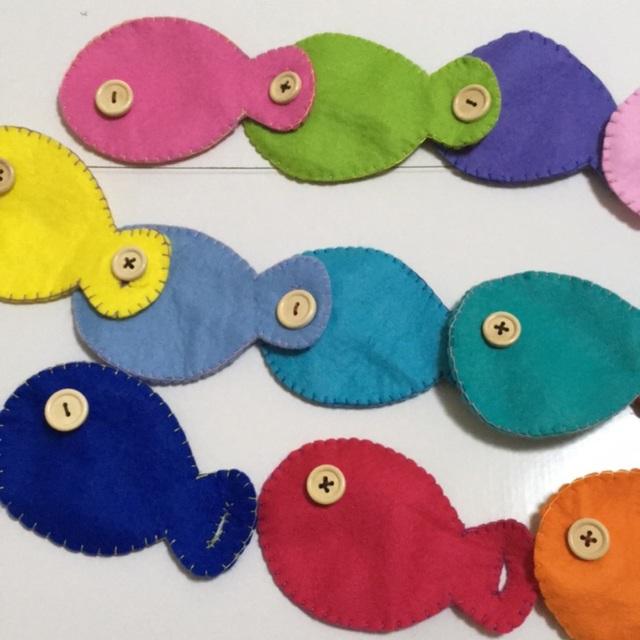 【アプリ投稿】魚のボタン遊び