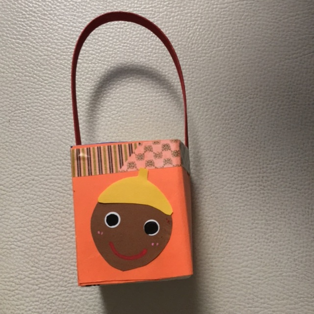 【アプリ投稿】秋のお散歩バッグ