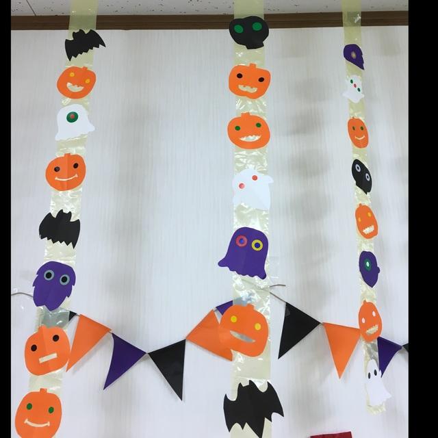 【アプリ投稿】10月壁面 保育室飾り ハロウィン