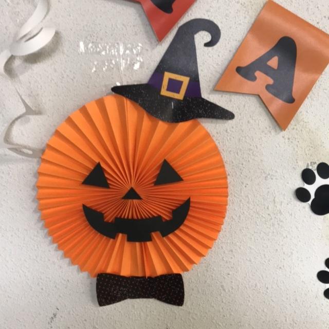 【アプリ投稿】かぼちゃペーパーファン