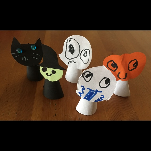 【アプリ投稿】ハロウィン指人形