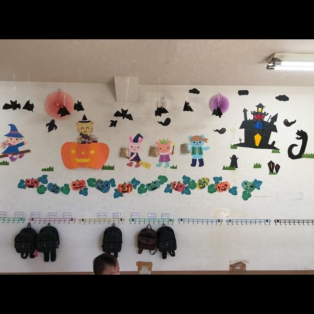 【アプリ投稿】ハロウィン壁面