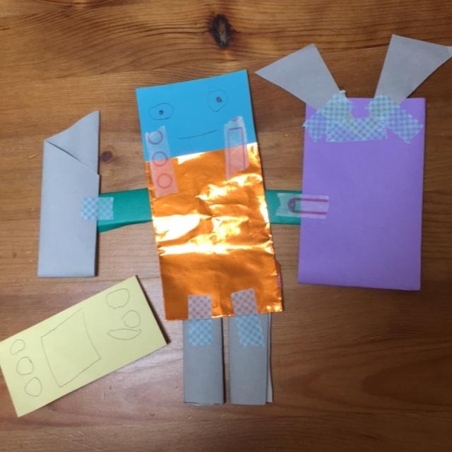 【アプリ投稿】折り紙でロボット
