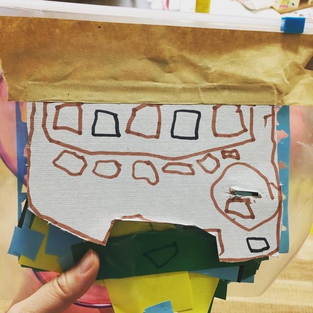 【アプリ投稿】4歳創作活動 自動販売機ごっこ